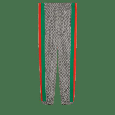 超大造型GG尼龙慢跑长裤