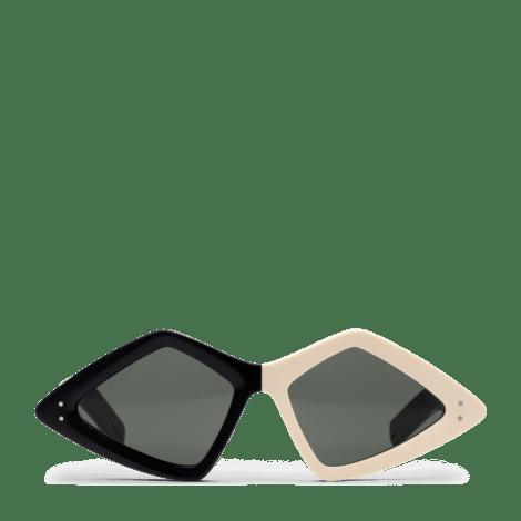 钻石形镜框太阳眼镜