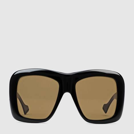 超大号方形镜框太阳眼镜