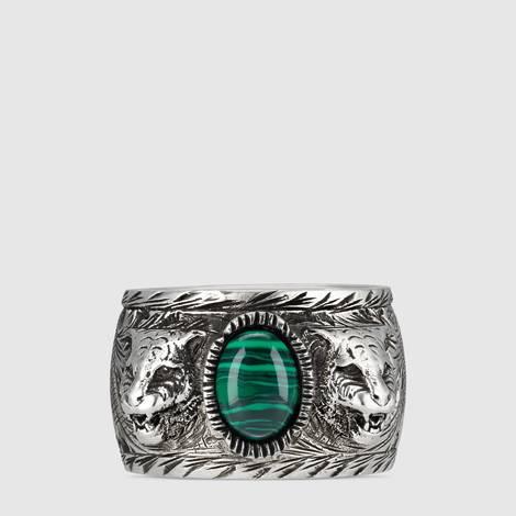 古驰花园纯银戒指