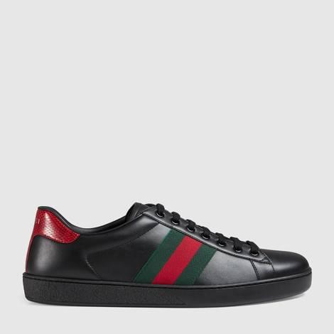 Ace系列男士皮革运动鞋