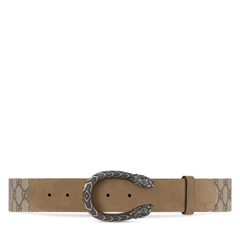 Dionysus系列高级人造帆布腰带