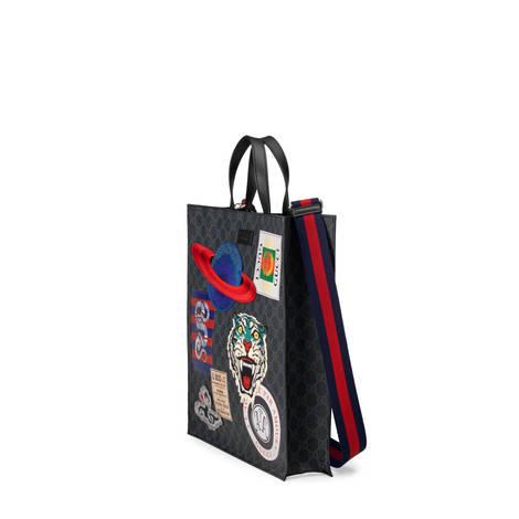 Night Courrier系列柔软高级人造帆布购物袋