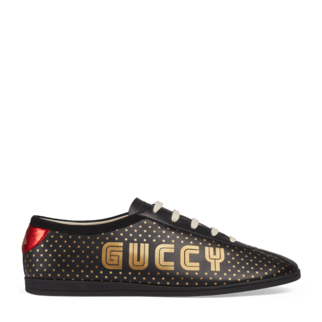 Falacer系列Guccy印花运动鞋