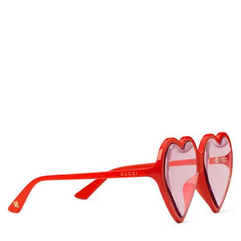 贴合设计心形镜框太阳眼镜