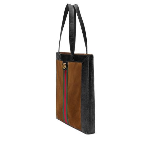 Ophidia系列麂皮大号购物袋