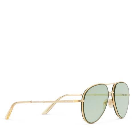 飞行员金属镜框太阳眼镜