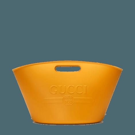 Gucci标识手提购物袋