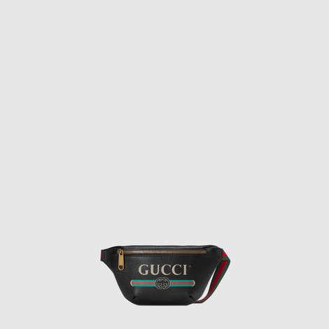 Gucci印花小号腰包
