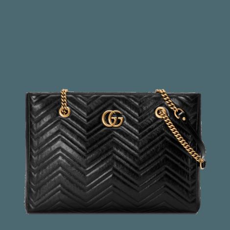 GG Marmont系列绗缝中号购物袋
