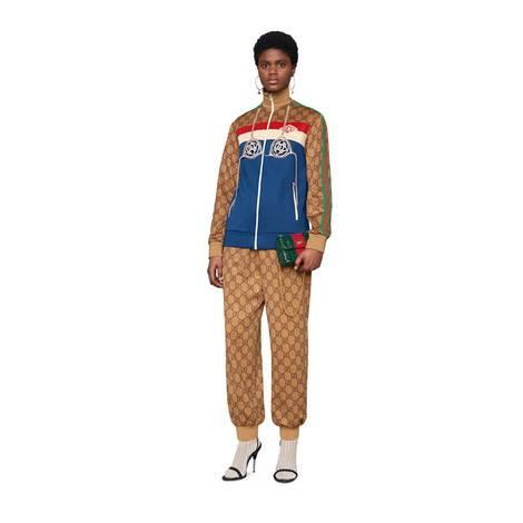 GG平纹针织夹克