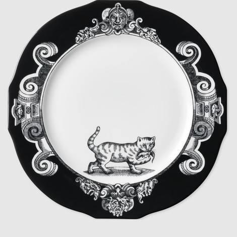 猫图案主菜盘(套装)
