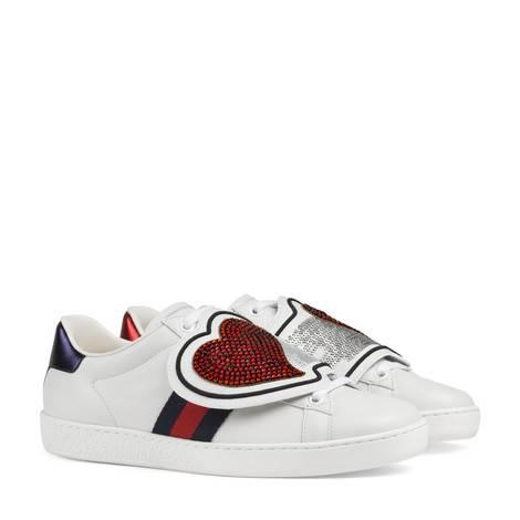 Ace系列心形闪电贴饰运动鞋