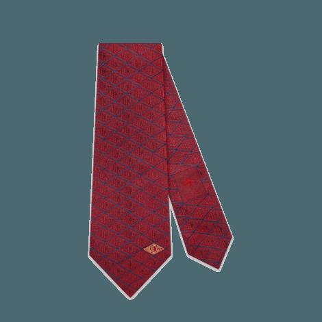 Gucci game真丝领带