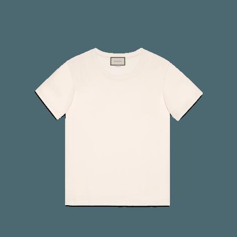 Gucci印章印花超大造型T恤