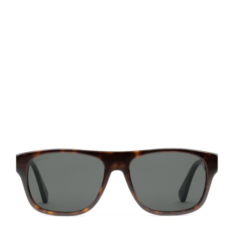 方形镜框太阳眼镜