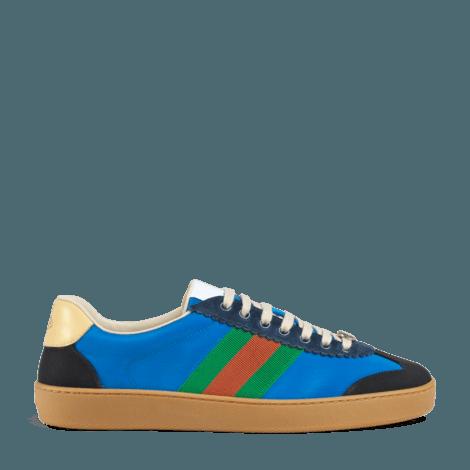 G74系列饰条纹织带运动鞋