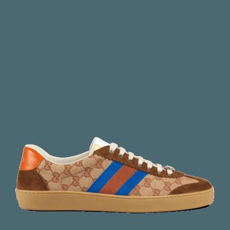 G74系列饰条纹织带经典GG运动鞋
