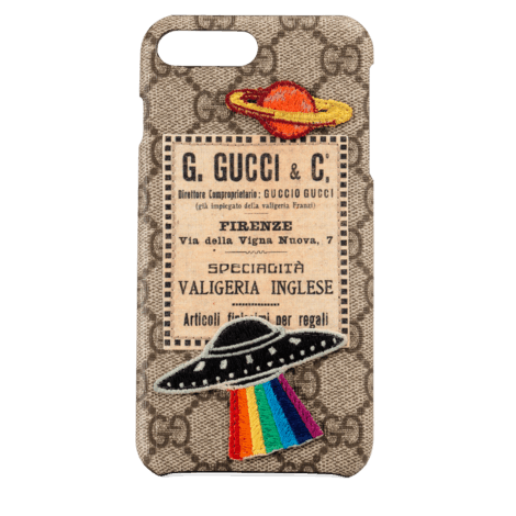 Gucci Courrier系列iPhone 8 Plus保护套