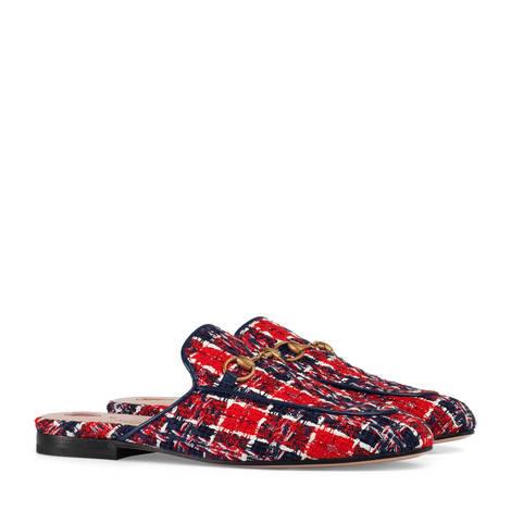 Princetown系列花呢格子便鞋