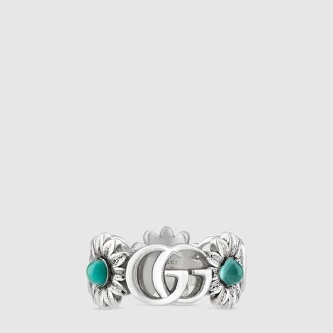 双G花朵戒指