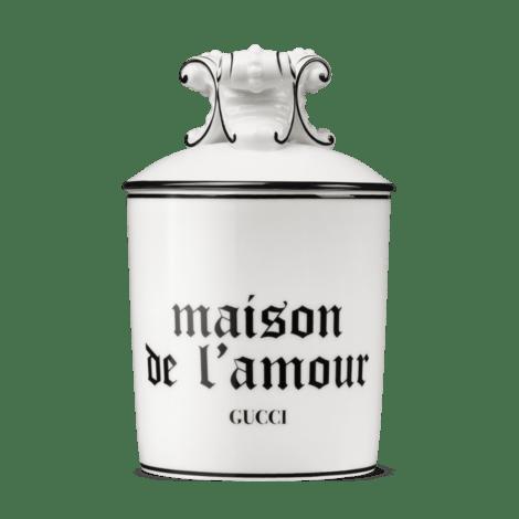 "小苍兰""Maison De L'Amour""印花超大号蜡烛"