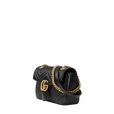GG Marmont系列小号绗缝肩背包