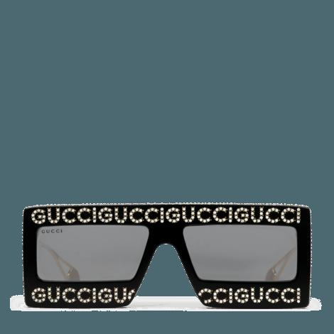 面具型镜框太阳眼镜