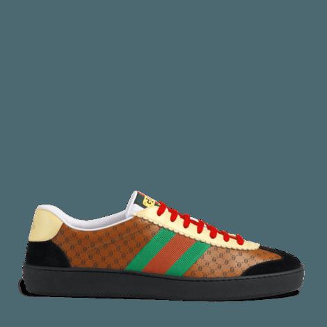Gucci-Dapper Dan联名系列男士G74运动鞋