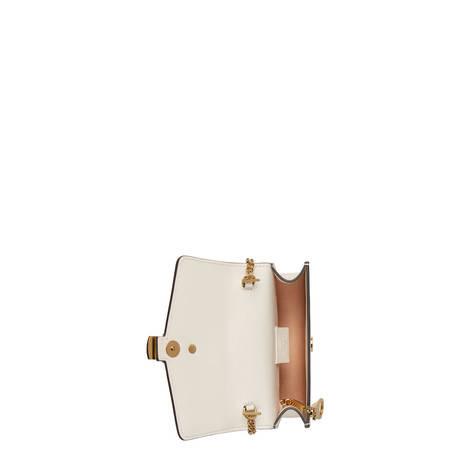Sylvie系列皮革迷你链条手袋