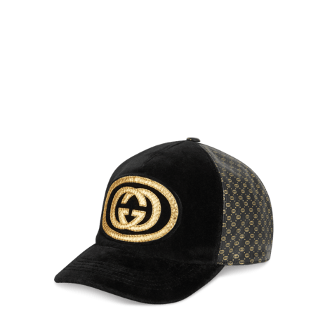 Gucci-Dapper Dan联名系列棒球帽