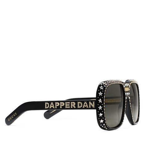 Gucci-Dapper Dan联名系列太阳眼镜
