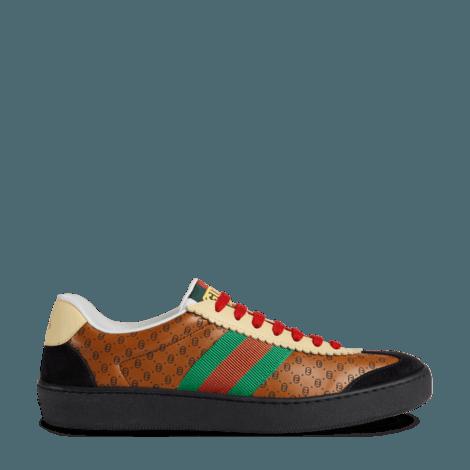 Gucci-Dapper Dan联名系列女士G74运动鞋