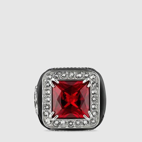 宝石和水晶戒指