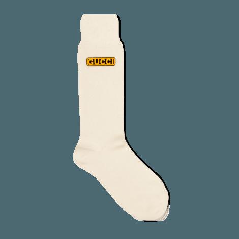 Gucci-Dapper Dan联名系列女士羊毛短袜