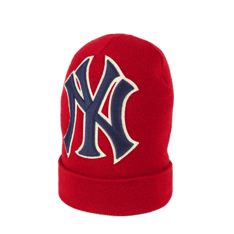 NY Yankees™贴饰羊毛帽