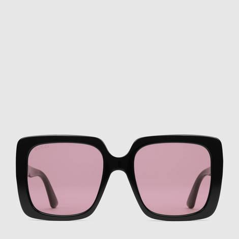 长方形镜框太阳眼镜