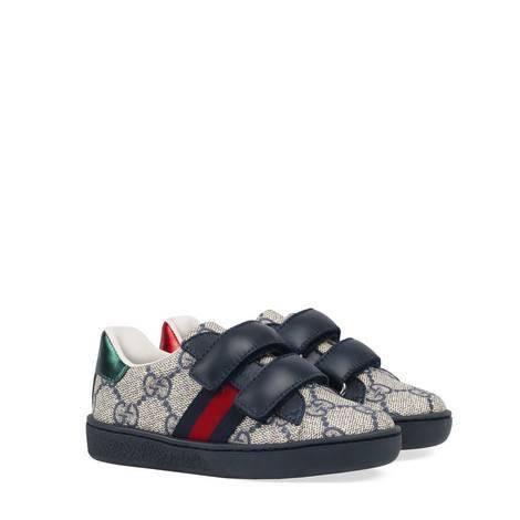 幼儿Ace系列高级人造帆布运动鞋