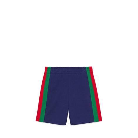 儿童织带针织短裤
