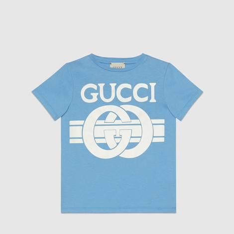 儿童Gucci印花T恤