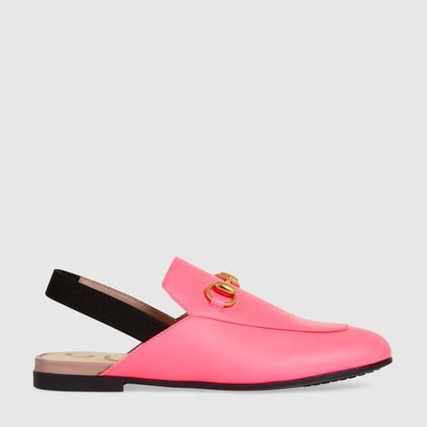 Princetown系列儿童皮革拖鞋