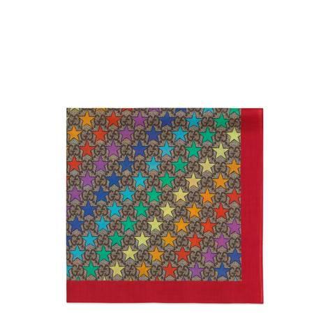 儿童GG彩虹星星棉质口袋巾
