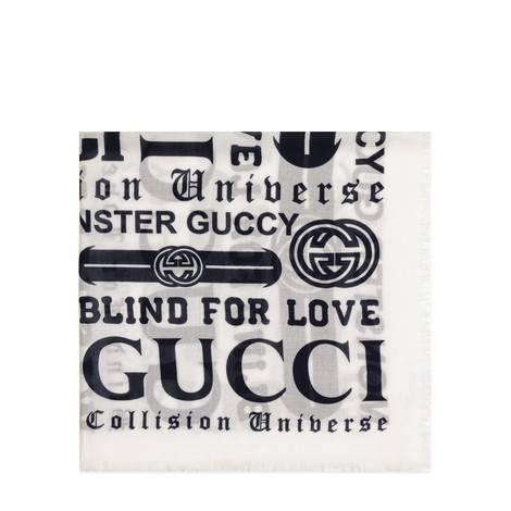 儿童Gucci多种标识印花披肩