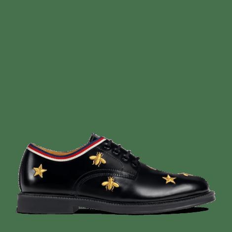 儿童蜜蜂和星星图案系带鞋