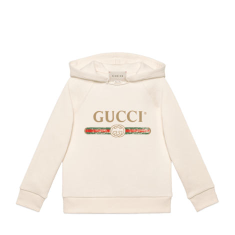 儿童Gucci标识卫衣