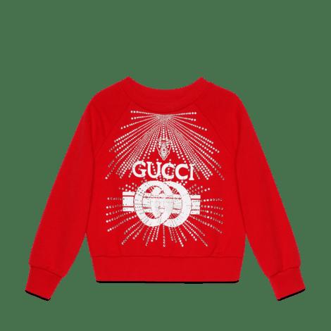儿童Gucci印花卫衣