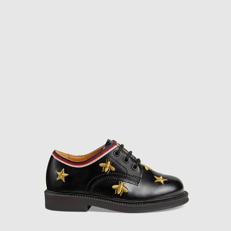 幼儿蜜蜂和星星图案系带鞋