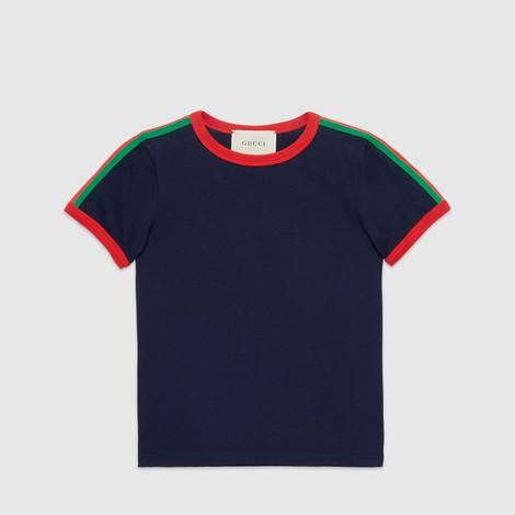 儿童珊瑚蛇印花T恤