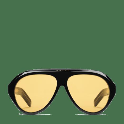 饰双G飞行员太阳眼镜