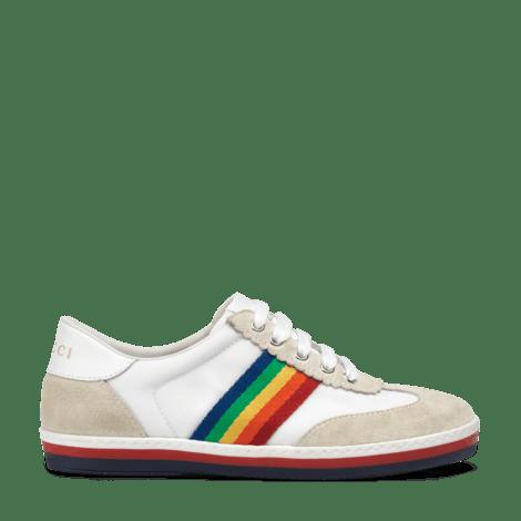 G74系列儿童彩虹条纹运动鞋